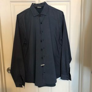 Men's Kenneth Cole button up, 16 1/2 34/35